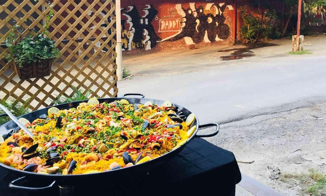 The Paella Pan, a friendly, original and delicious concept